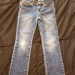 Distressed Girl skinny jeans